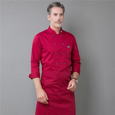 NEW CHEF'S JACKET ANS APRON UNIFORM SG001223