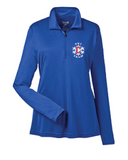 Mens and Womens 1/4 Zip Long Sleeve Shirts