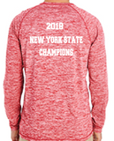 Mens' Holloway Long Sleeve Electrify State Champs Tee