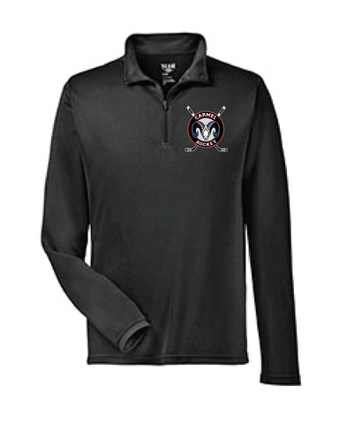 Ice Hockey Mens' 1/4 Zip Long Sleeve Shirt