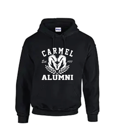 Alumni Hoodie black and white