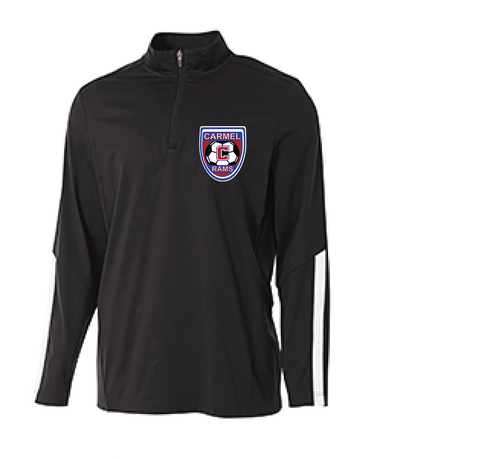 Boys Soccer 1/4 Zip Warm Up Jacket