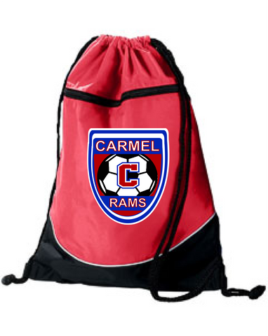 Boys Soccer Drawstring Backpack
