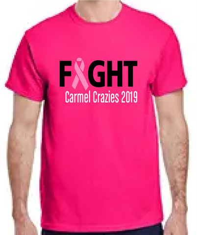 Carmel Crazies Breast Cancer Tee