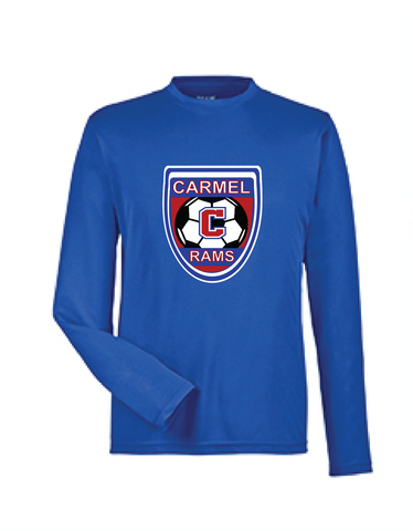 Boys Soccer Long Sleeve Dri Fit Tee