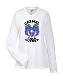 Girls Soccer Long Sleeve Dri Fit Tee