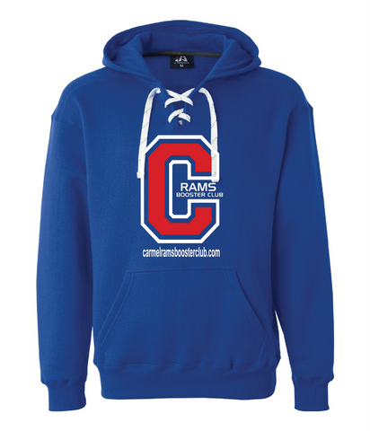 Booster Club Lace Up Hoodie