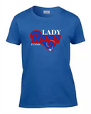 Lady Rams Tennis Tee Mens' & Womens'