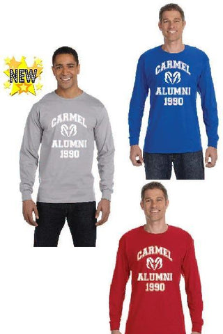 Men's Long Sleeved Alumni Tee