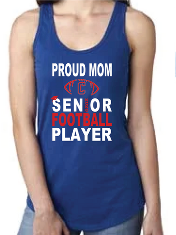 Rams Football Mom Tank