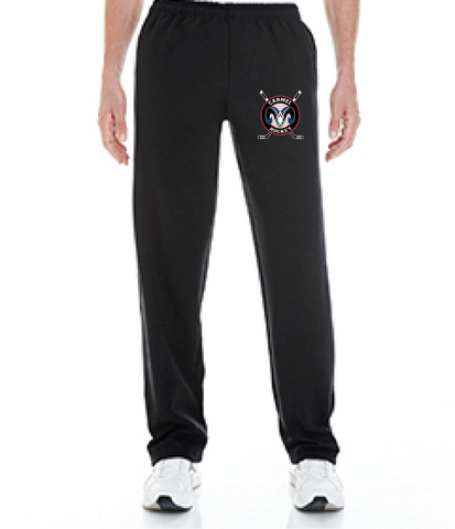 Ice Hockey Open Bottom Performance Sweatpants
