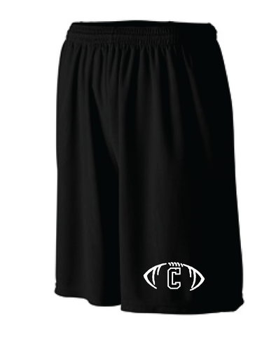 Rams Football Shorts with Pockets