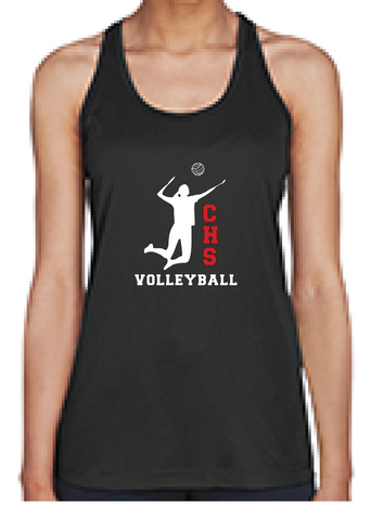 Girls Volleyball Tank Top New Logo