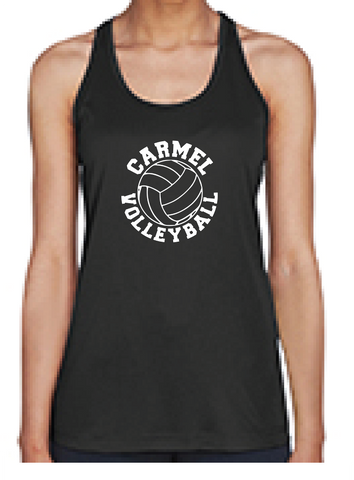 Girls Volleyball Tank Top Classic Logo