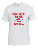 Rams Football Property Tee
