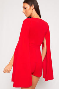 Combishort Cape Red