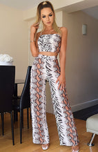 Ensemble Assorti Pantalon et Top Snake