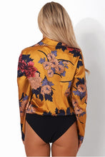 Body Floral Yellow
