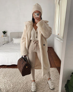Manteau Oversize Cream