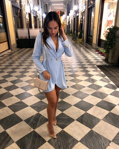 Robe Blazer Blue