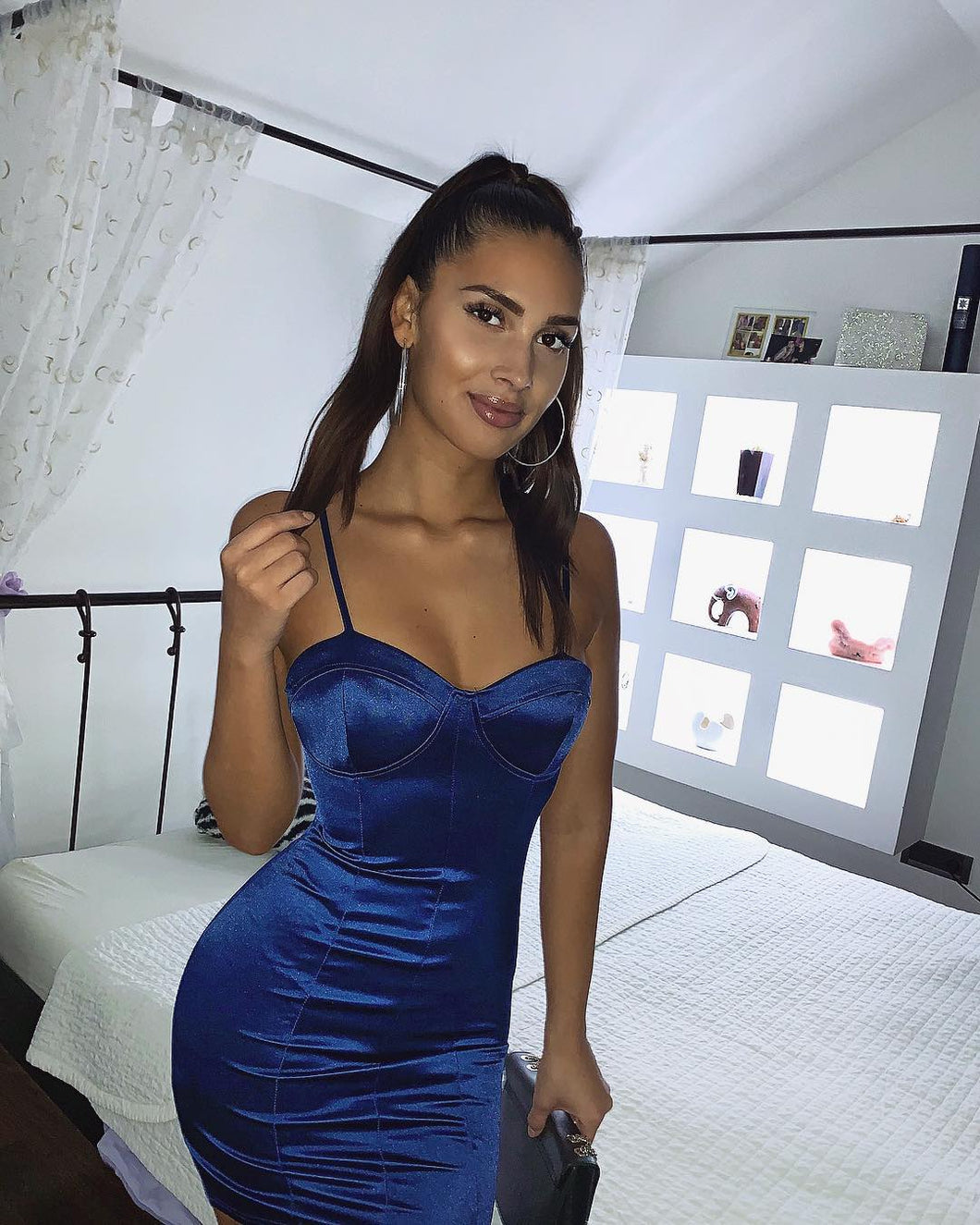 Robe Party Blue