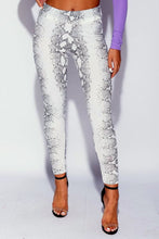 Legging Snake White