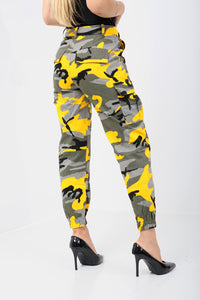 Pantalon Camouflage Yellow