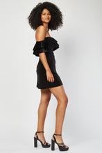 Robe en Velours Black