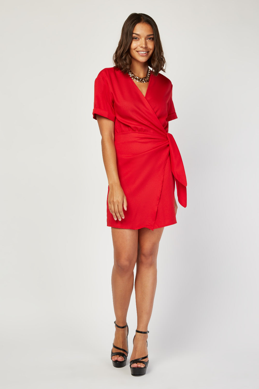 Robe Portefeuille Red