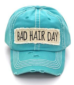 """Bad Hair day"" Turqouise"
