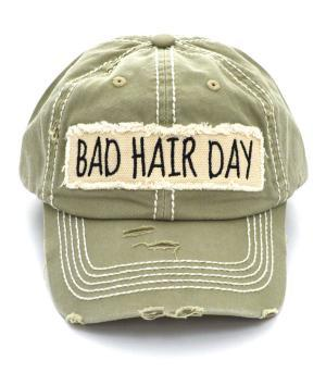 """Bad Hair Day"" Khaki"