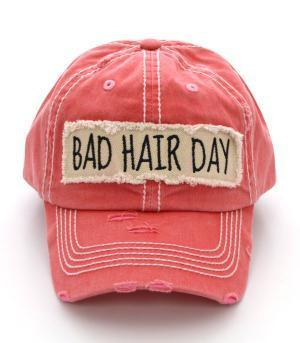 """Bad Hair Day"" Hat Salmon"