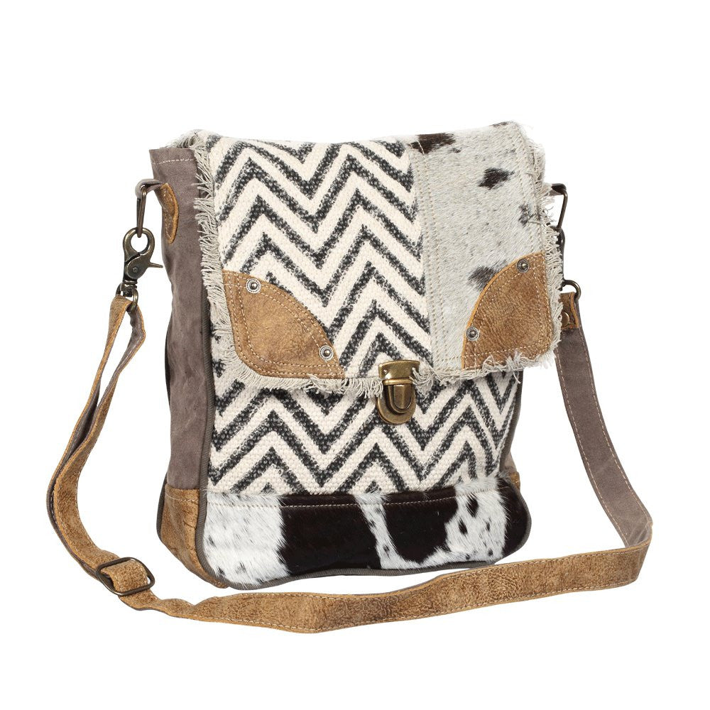 Rug and Patches shoulder bag