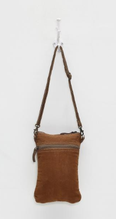 """Sailing Anchor"" Canvas Cross-Body Bag"