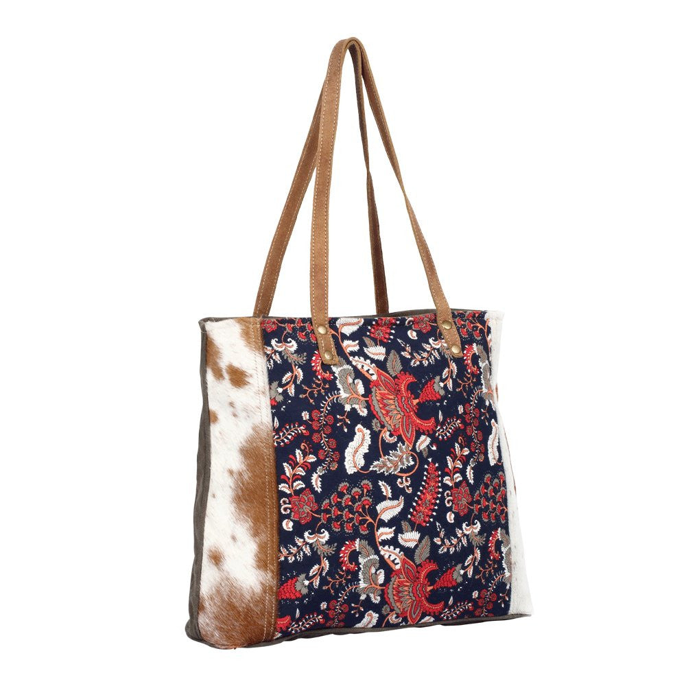Planetoid design tote bag