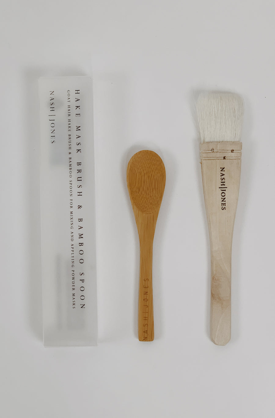 Hake Brush & Spoon Set