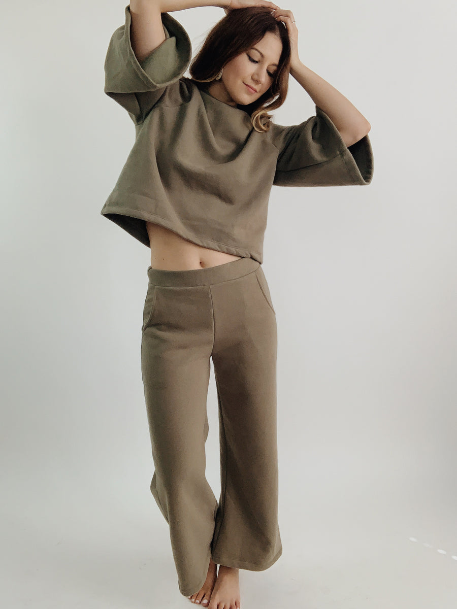 Tonlé Jorani Pants in Olive