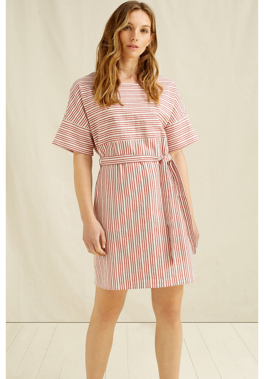 People Tree Christabel Stripe Dress