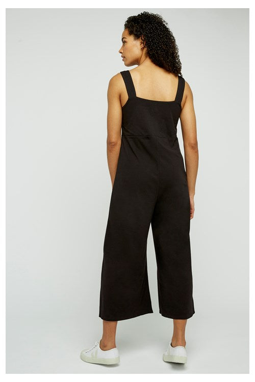 People Tree Diana Black Jumpsuit