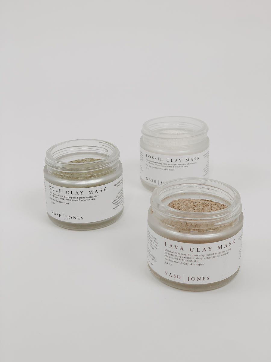 Nash & Jones Clay Mask Trio Set