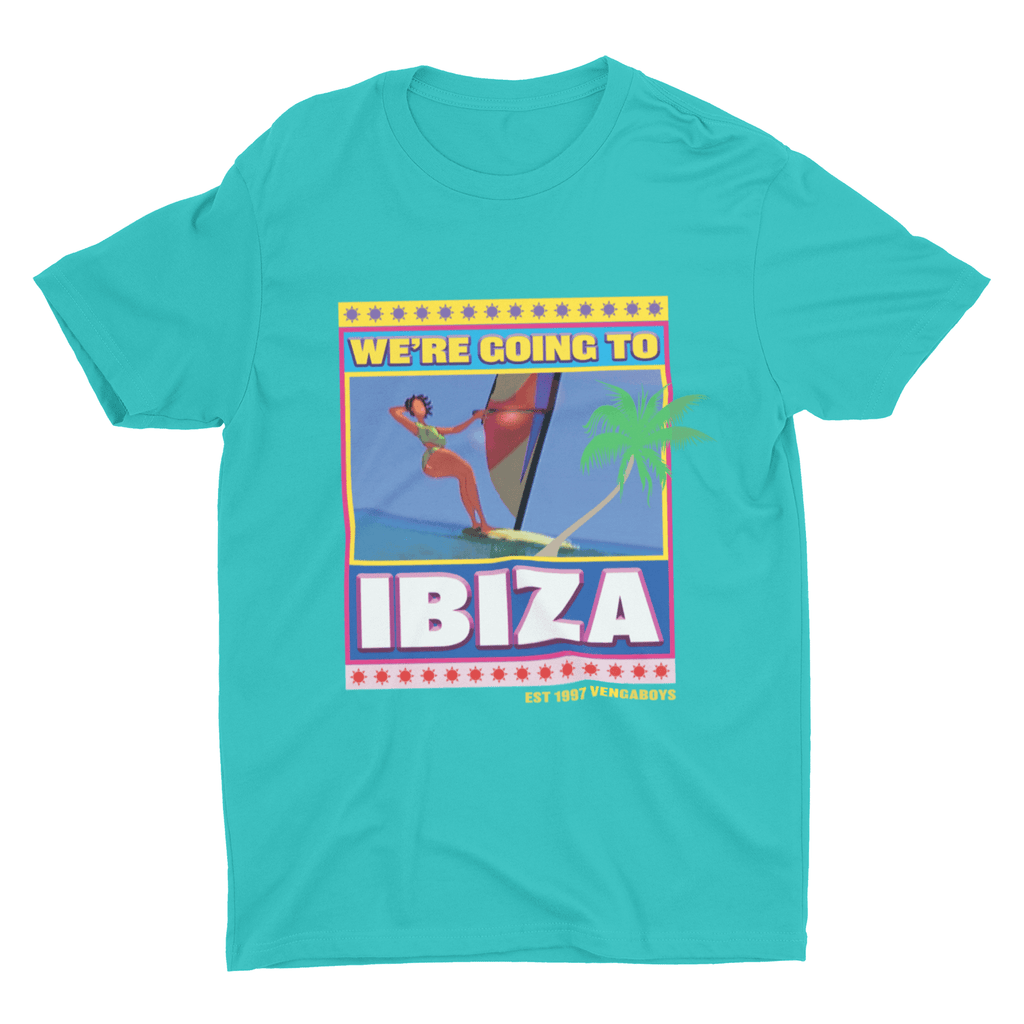 Ibiza T-shirt in Green | T-shirts | WeLiketoParty.com | Official Vengaboys Merchandise