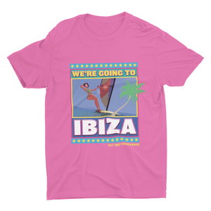 Ibiza T-shirt in Pink | T-shirts | WeLiketoParty.com | Official Vengaboys Merchandise