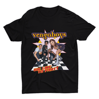 Vengaboys like to party T-shirt | T-shirts | WeLiketoParty.com | Official Vengaboys Merchandise