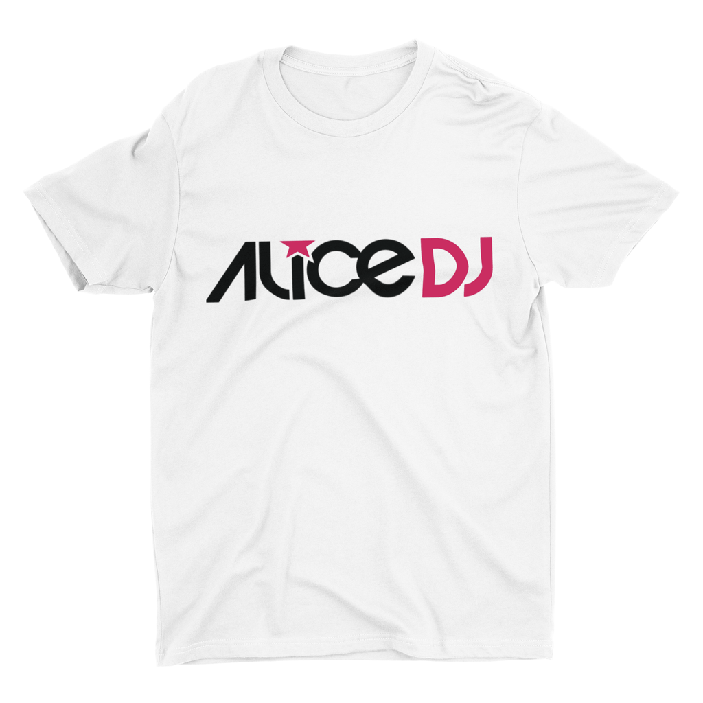 AliceDJ T-shirt in White | T-shirts | WeLiketoParty.com | Official AliceDJ Merchandise