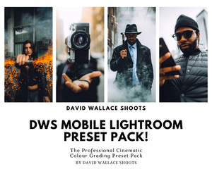 DWS MOBILE LIGHTROOM PRESET PACK!
