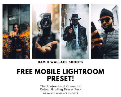 FREE MOBILE LIGHTROOM PRESET!
