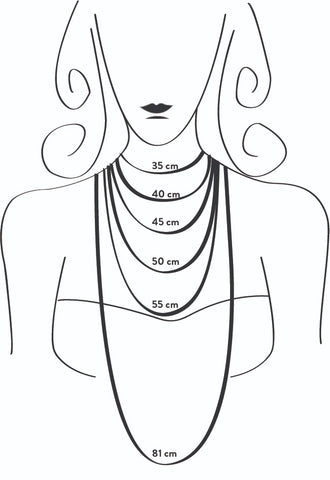 Mouzannar Necklace Fit guide