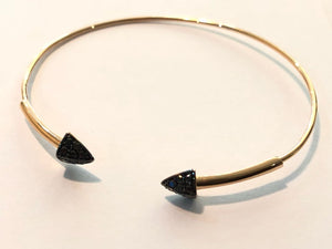 Bracelet with Diamonds Black Diamonds for this summer to wear