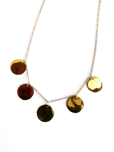 Necklace Yellow, Rose or White Plume Collection