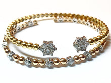 Summer Vibes Stars Shine Pink Gold and diamonds Bracelet